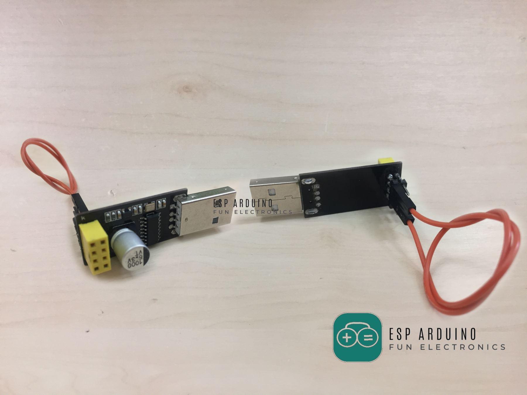 Arduino_serial_module_board