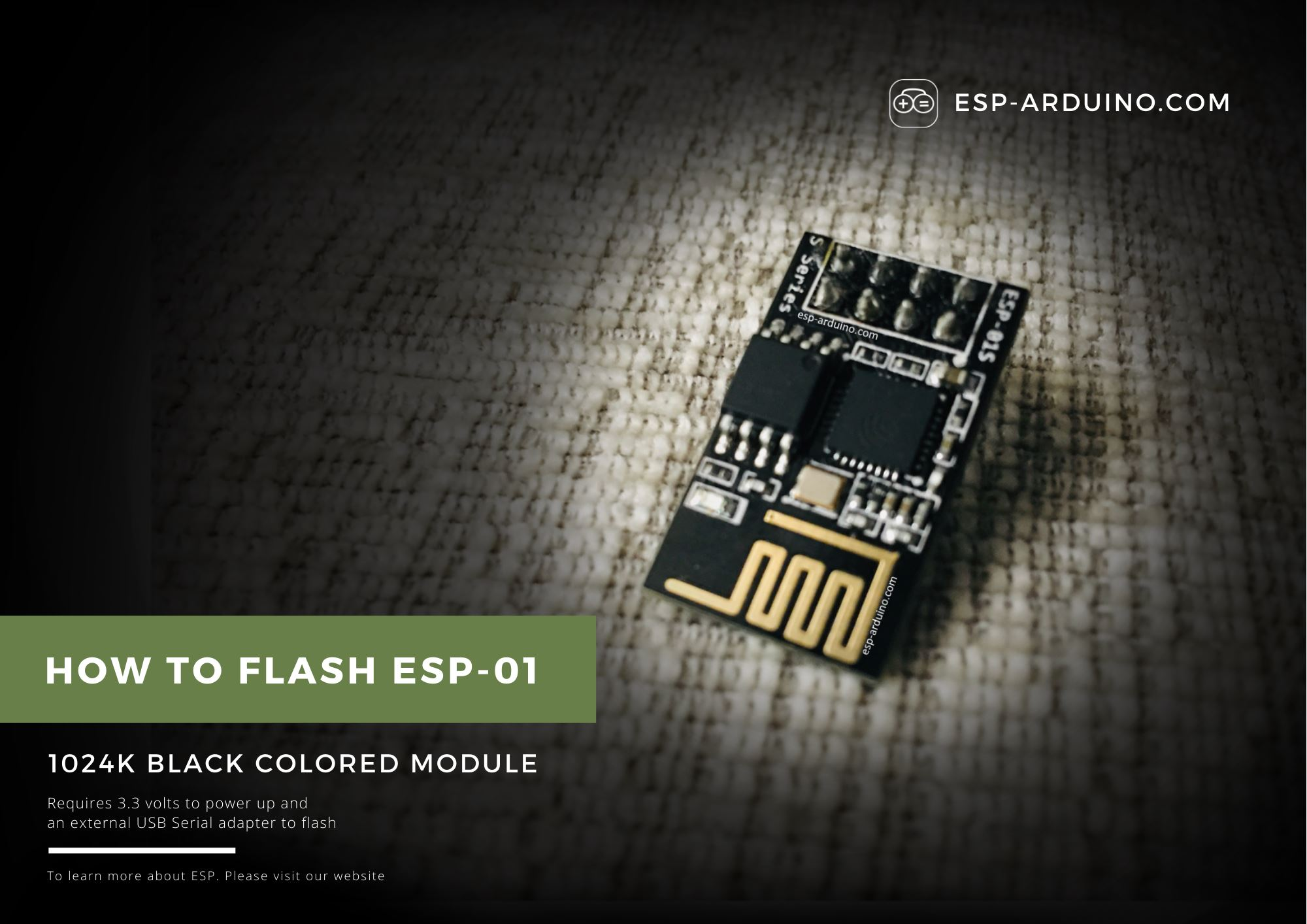 Installing Arduino And Flash ESP-01 With Blink