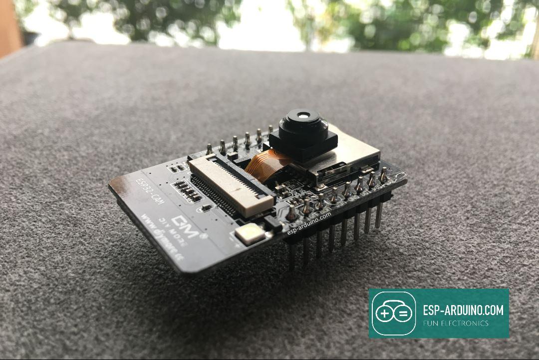 esp arduino esp32-cam face detection
